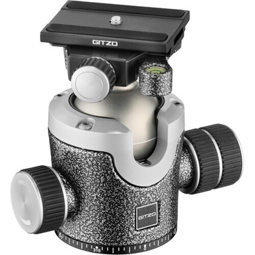Gitzo GIGH4383QD Series 4 Center Ball Head with Arca-Type Screw Knob QR Receiver