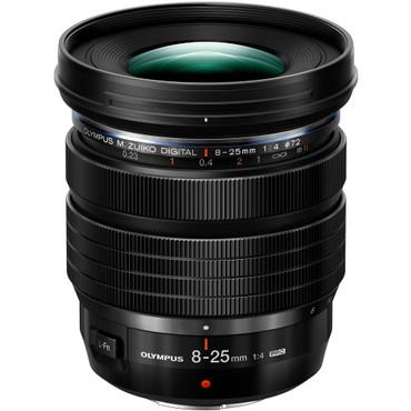 Olympus M.Zuiko Digital ED 8-25mm f/4 PRO Lens