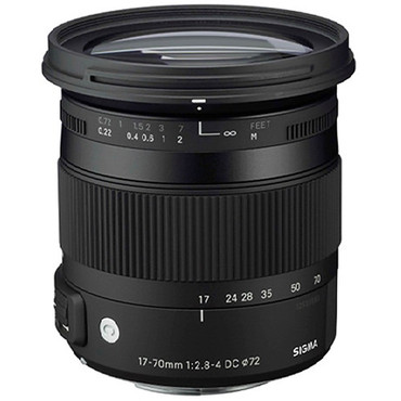 Sigma 17-70mm F/2.8-4 DC Macro C OS HSM Lens For Canon