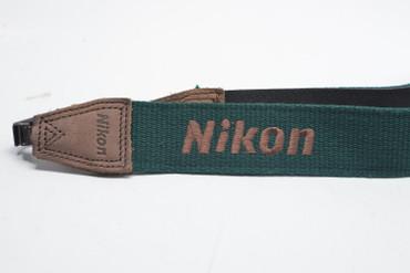 Nikon Camera  Strap, Green