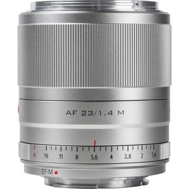 Viltrox AF 23mm f/1.4 M Lens for Canon EF-M (Silver)