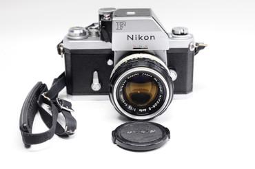 Pre-Owned - Nikon F Photomic Ftn Chrome w. 50MM 1.4 NON-AI
