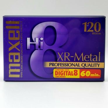 Hi8 8mm Cassette Tape 120min