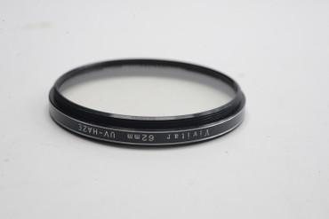 Pre-Owned Vivitar 62mm UV Haze screw in filter