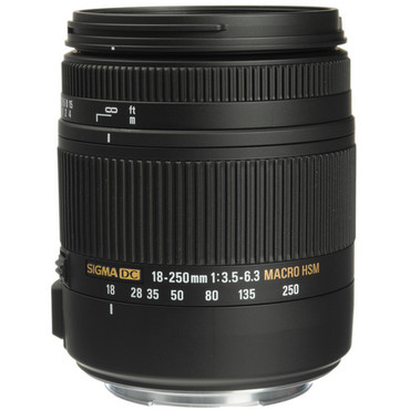 Sigma 18-250mm f/3.5-6.3 DC Macro OS HSM For Nikon
