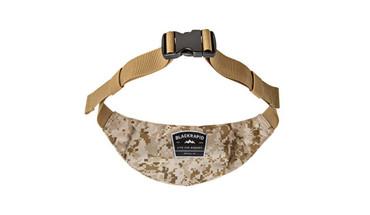 BlackRapid Waist Pack with 2 Zippered Pockets & Adjustable Belt Digital Camo
