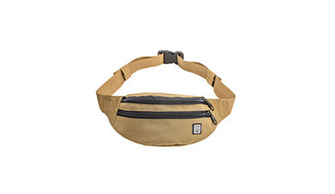 BlackRapid Waist Pack with 2 Zippered Pockets & Adjustable Belt Coyote