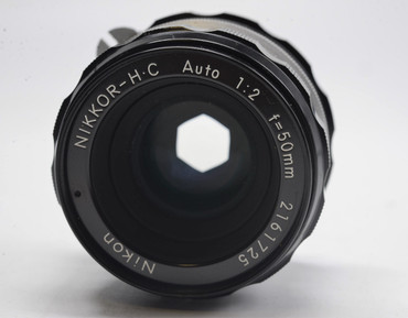 Pre-Owned - Nikon 50mm f/2 Nikkor-HC Non AI Manual Focus Lens