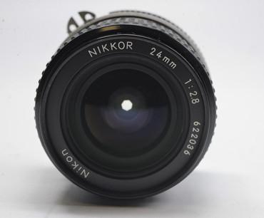 Pre-Owned - Nikon 24Mm F2.8 AI Manual focus