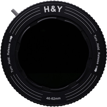 H&Y Filters RevoRing Variable ND3-ND1000 & Circular Polarizer Filter (58-77mm)
