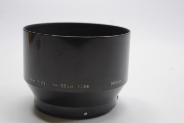 Pre-Owned Nikon F Snap-On Lens Hood for 105mm or 135mm