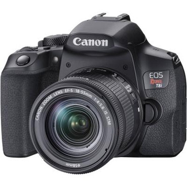 Pre-Owned Canon EOS T8i DSLR Camera with 18-55mm Lens