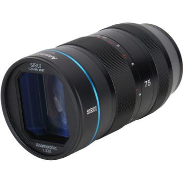 Sirui 75mm f/1.8 1.33x Anamorphic Lens (Micro Four Thirds)