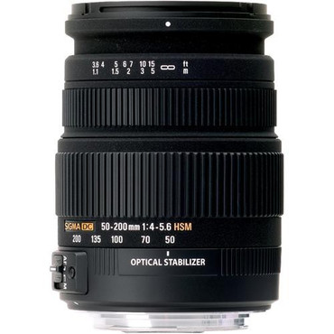 55-200 OS For Canon DC F 4-5.6 HSM