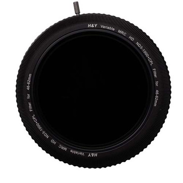 RevoRing 46-62mm Variable Neutral Density ND3-ND1000 and Circular Polarizer Filter