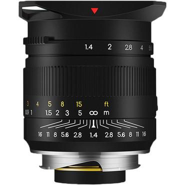 TTArtisan 35mm f/1.4 Lens for Leica M (Black)