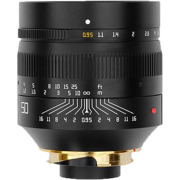 TTArtisan 50mm f/0.95 Lens for Leica M (Black)
