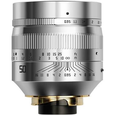 TTArtisan 50mm f/0.95 Lens for Leica M (Silver)