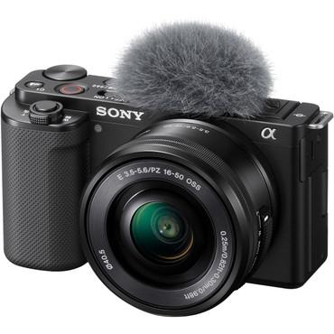 Sony ZV-E10 Mirrorless Camera with 16-50mm Lens (Black)