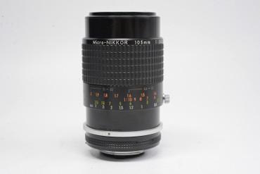Pre-Owned - Nikon Micro-Nikkor 105Mm F2.8 AI-S Manual