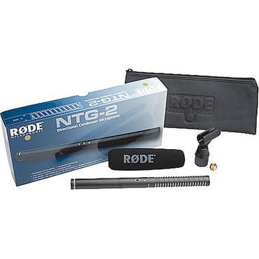 NTG-2 Battery Powered Condenser Shotgun Mic