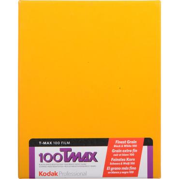 "Kodak Professional T-Max 100 Black and White Negative Film (4 x 5"", 10 Sheets)"