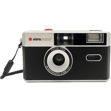 AgfaPhoto Analog 35mm Reusable Film Camera (Black)