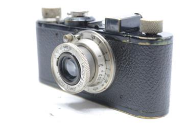 Pre-Owned - Leica I BLACK (1931) (SN#:69778) w/ Elmar 50mm(~5cm)  F/3.5 Lens (Total Made:11,999)