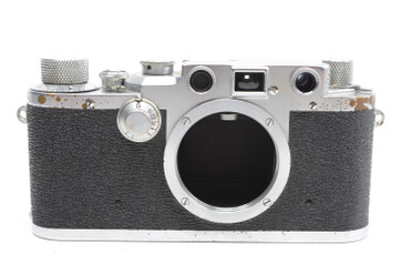 Pre-Owned - Leica IIIc (1949-50) SN#:480787,866702,  w/ 50mm F/3.5 lens (Total made: 15,000)