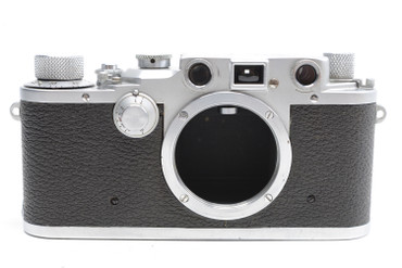 Pre-Owned Leica IIIC (1943-1946) (SN:396194) Body Only (Total Made:7,650)