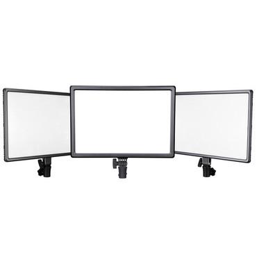Nanlite Lumipad 25 High-Output Bi-Color Soft Light LED 3x Panel Bundle
