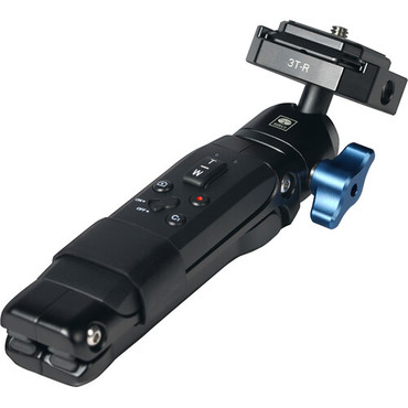 Sirui Table Top Tripod with Detachable Blue Tooth Remote, Access Port (Black Aluminum)