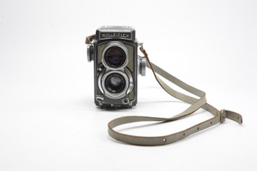 Pre-Owned - Rollei Rollieflex Baby (Gray Baby) (1957-1968) TLR Film Camera