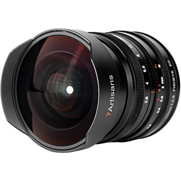 7artisans Photoelectric 10mm f/2.8 Fisheye Lens for Leica L