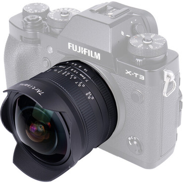 7artisans Photoelectric 7.5mm f/2.8 II Fisheye Lens for FUJIFILM X