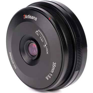 7artisans Photoelectric 35mm f/5.6 Pancake Lens for Sony E (Black)
