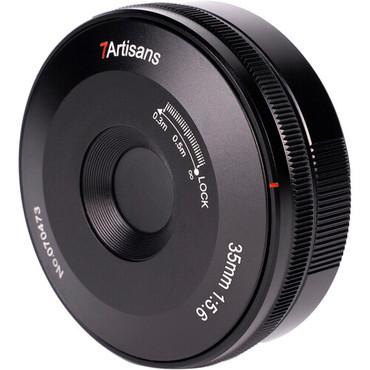 7artisans Photoelectric 35mm f/5.6 Pancake Lens for Nikon Z (Black)