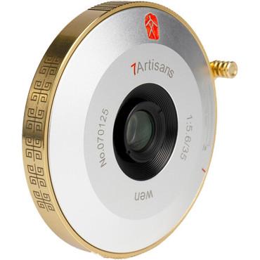 7artisans Photoelectric 35mm f/5.6 Lens for Leica M (Gold)