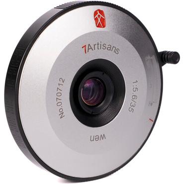 7artisans Photoelectric 35mm f/5.6 Lens for Leica M (Black/Silver)