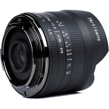 7artisans Photoelectric 7.5mm f/2.8 II Fisheye Lens for Nikon Z