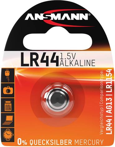 Ansmann 5015303 LR 44 1.5V Alkaline Battery