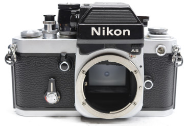 Pre-Owned - Nikon F2AS Photomic 35mm Film Camera Body (Silver)  w/DP-12