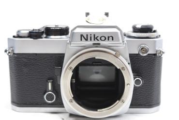 Pre-Owned-Nikon FE 35mm Camera Body (Chrome)