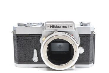 Pre-Owned- Nikon Nikkormat FT 35mm Camera Body (Chrome)