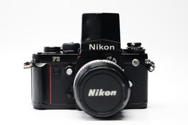 Pre-Owned - Nikon F3 and DA-2 ACTION FINDER  W/ 50MM F2.0 AI Film Camera, 200 DAY WARRANTY