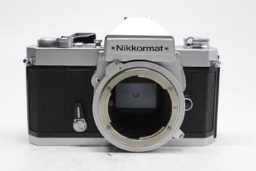 Pre-Owned - Nikon  Nikkormat FT2 35mm Film Camera Body, Chrome