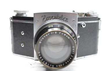 Pre-Owned - Exakta Kine Model 1 Version 2 (1936-1939) (SN#488588) w/8cm (80mm) F/2.0 Biotar Lens (1936) (SN#1872946)
