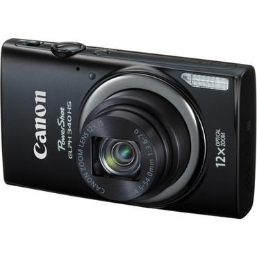 Canon PowerShot ELPH 340 HS Digital Camera (Black)