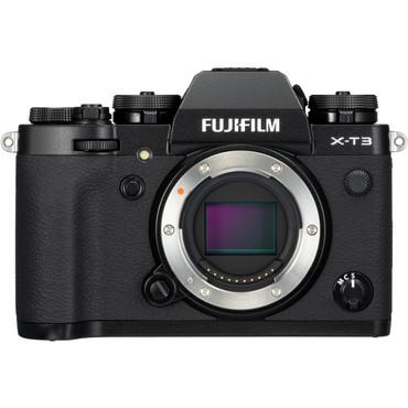 FUJIFILM X-T3 Mirrorless Digital Camera (Body Only, Black, No Charger)
