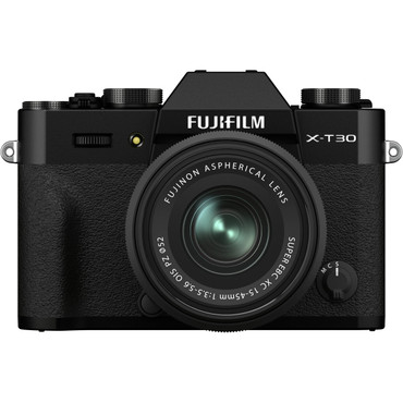 FUJIFILM X-T30 II Mirrorless Digital Camera with 15-45mm Lens (Black)